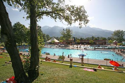 Beautiful Freibad Mühleholz. Muehleholz Swimming Pool